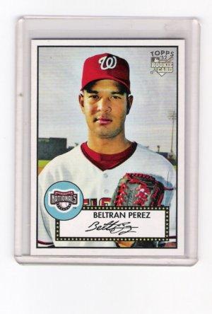 Beltran Perez  2007 Topps 52 # 205