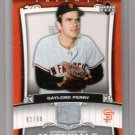 Gaylord Perry 2005 Upper Deck Trilogy Jersey Card 82/99