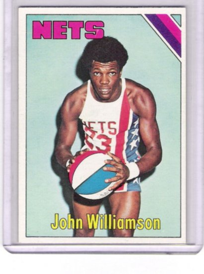 John Williamson Nets 1975-76 Topps  # 251