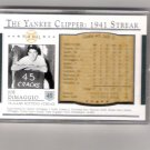 Joe DiMaggio 03 Play Ball 1941 Streak Commemorative 45
