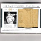 Joe DiMaggio 03 Play Ball 1941 Streak Commemorative 52