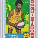Caldwell Jones San Diego Conquistadors ABA RC # 187