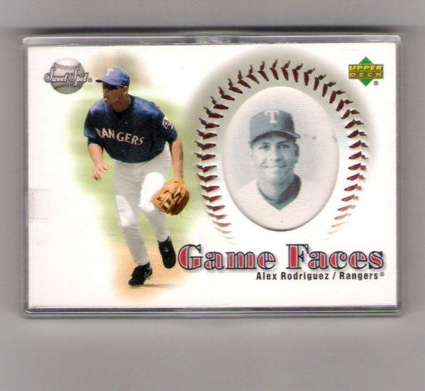 Alex Rodriguez 2002 Upper Deck  Game Faces # 148