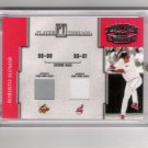Roberto Alomar Cleveland Indians Dual Jersey Card 52/250