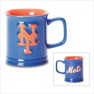 MLB Mets Sculpted Mug