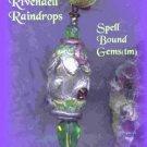 TOLKIEN/ Custom SpellBoundGems(tm)/Pendulum/Amulet/RIVENDELL RAINDROPS/Handmade/Pagan/Elven/Wicca