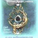 Spiritual Steampunk(tm)/Custom Amulet/ Wiccan Moon Goddess/Spell Bound Gems(tm)/Custom Magic