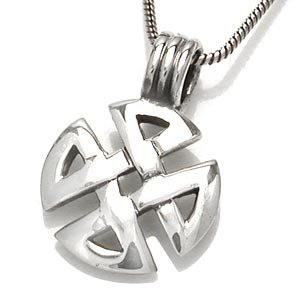 925 Sterling Silver Celtic Knot Pendant