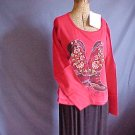 Cowboy Boot design top great color for jeans. Size Large