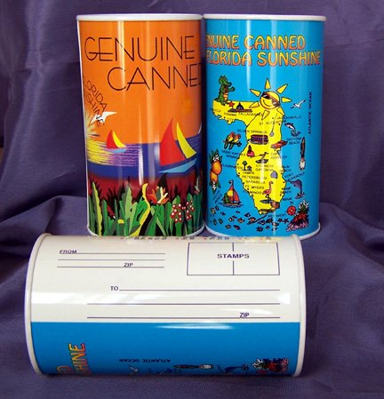 Canned Sunshine Florida Souvenir