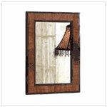 #36167 Wood Wall Mirror