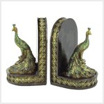 #38437 Peacock Bookends