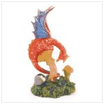 #37879 Red Dragon Figurine