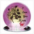 """#34126 """"I Love Mom"""" Plaque"""