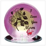 #34126 �I Love Mom� Plaque
