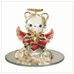 #35067 January Birthstone Angel Bear