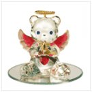 #35073 July Birthstone Angel Bear