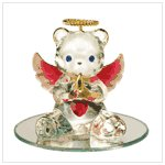 #35073 July Birthstone Angel Bear