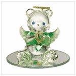 #35074 August Birthstone Angel Bear
