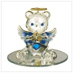 #35075 September Birthstone Angel Bear