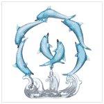 #33939 Playful Dolphin Circle