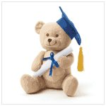#36703 Graduation Plush Bear