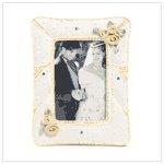 #36279 Beaded Wedding Frame