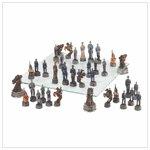 #37172 Deluxe Civil War Chess Set