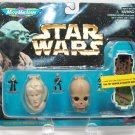 STAR WARS Micro Machines Head Figure Set Bib Figrin D'an