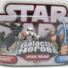 STAR WARS Galactic Heroes OBI-WAN & Sandtrooper Figure