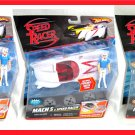 SPEED RACER Hot Wheels MACH 5 Car & Figure LOT Rare