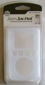 DLO JAM JACKET Clear Silicone iPod Case 10 20 30 40 GB