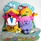 Little Miss Sunshine Naughty Chatterbox Plush Set 4 New