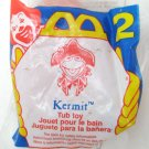 McDonalds Happy Meal Muppet KERMIT Frog Tub Toy #2