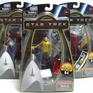 STAR TREK Figure Lot Sulu McCoy Chekov MOC Build Bridge