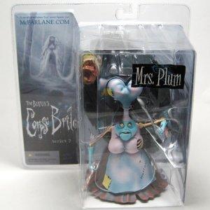 Tim Burton Corpse Bride MRS PLUM Figure MOC