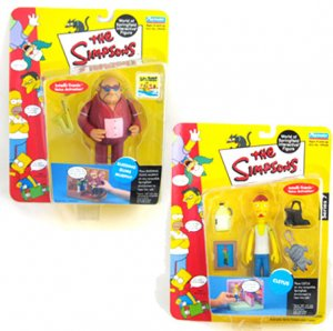 IMPSONS Figure Lot BLEEDING GUMS Murphy Sax CLETUS