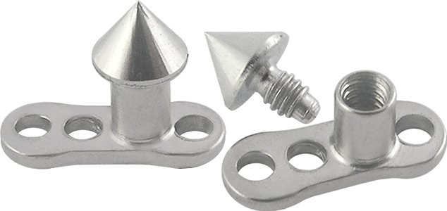 Cone Titanium G23 Dermal Anchor