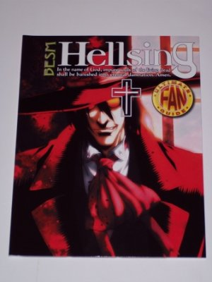 HELLSING ULTIMATE FAN GUIDE VOL.2  (TP) FREE SHIP