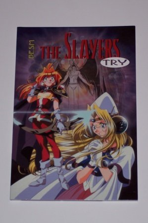 The Slayers Try- Book 3 **New**  FREE SHIP!!