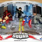 Marvel Super Hero Squad Avengers Face-Off Figures TRU EX - NEW