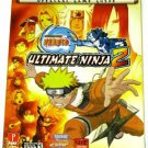 Shonen Jump Naruto Ultimate Ninja 2 Official Game Guide - New & Sealed