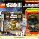 Lego Star Wars III DS w/Jango Fett Bobble-Head Play & Collect - NEW