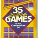 HP Books 35 Amazing Games for your Commodore 64