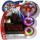 Bakugan Battle Brawlers Special Attack Turbine Dragonoid 710G - NEW