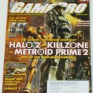 Gamepro Magazine Issue # 194 November 2004 (Halo2, Killzone, MP2)
