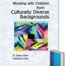 Working with children from Culturally Diverse Backgrounds