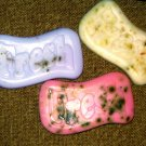 3 Handmade Customized Bars of Goats Milk Soap