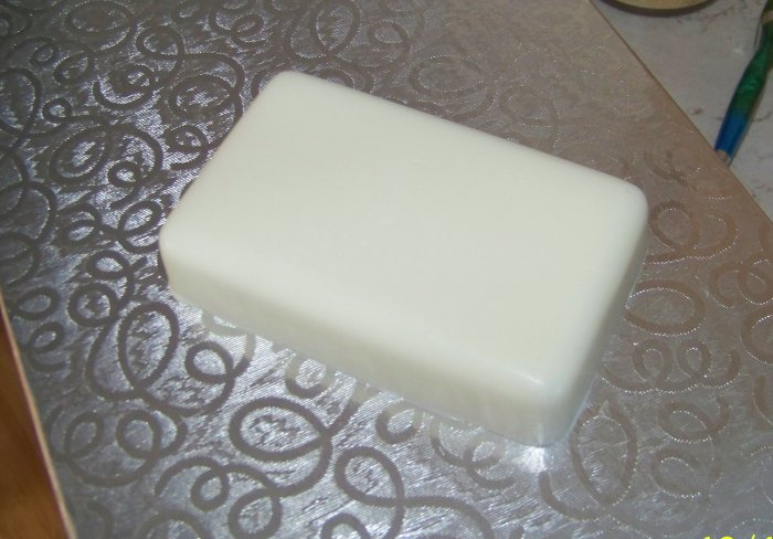 3 Handmade Unscented & Uncolored Goats Milk Soaps