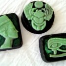 3 Handmade Customized Egyptian Set of Goats Milk Soaps